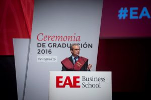 Graduation Ceremony at EAE Business School